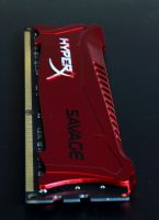 Kingston red metallic heatsink Savage DDR3  8GB module