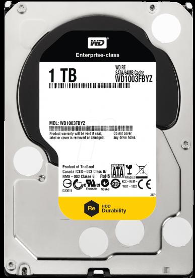 WD1003FBYZ, 1TB, 24 x 7, Re series