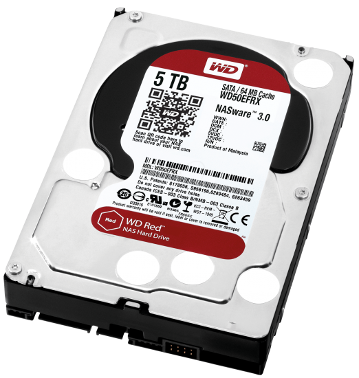 WD50EFRX, 5TB