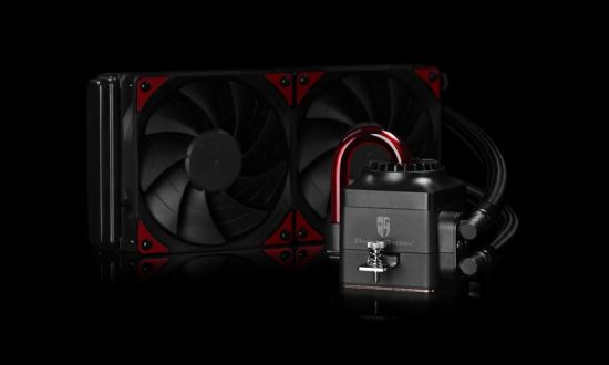 CAPTAIN 240 EX, 240mm radiator, two 120mm double blade fans