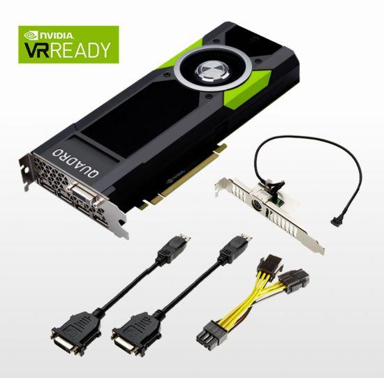 Quadro P5000, 2560 Pascal CUDA cores, 16GB GDDR5X!
