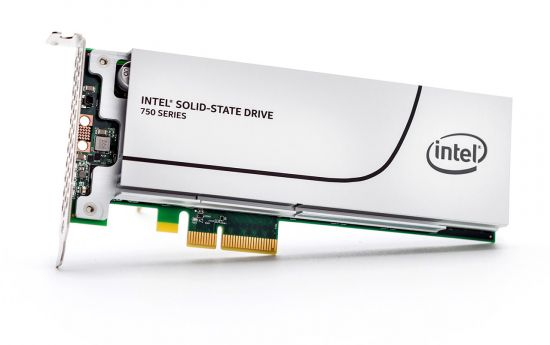 750 series SSD, 400GB 1/2 Height PCIe 3.0 x4, NVMe