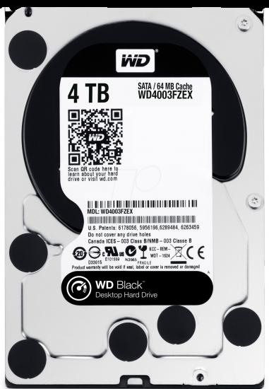 WD4003FZEX, 4TB