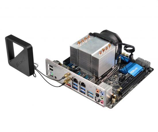 X99E-ITX/ac, Mini ITX form factor (17cm x 17cm)