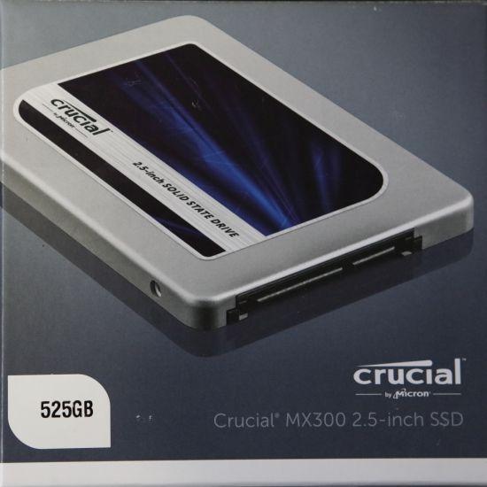 MX300 series 525GB SSD