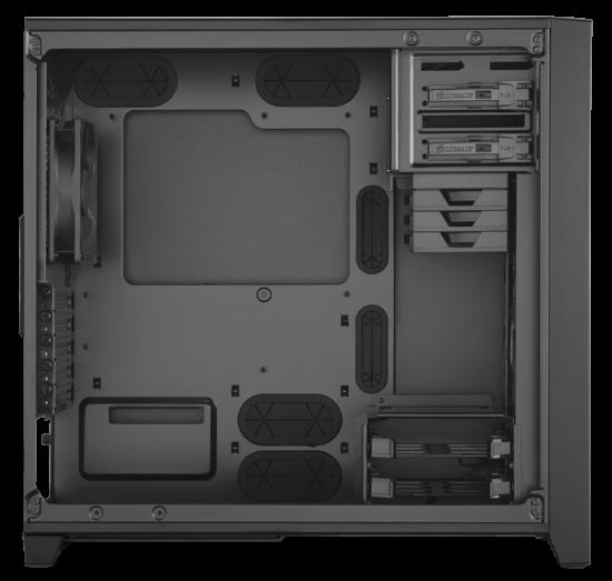 Obsidian 350D Windowed for MicroATX mainboards