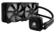 H100i, 240mm radiator, two 120mm fans