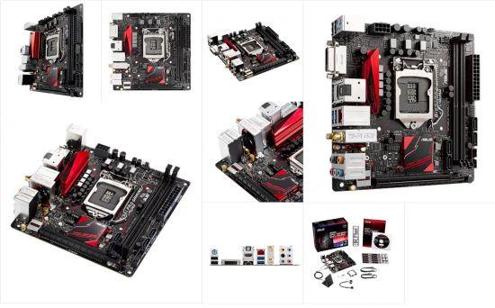 B150I Pro GAMING/WIFI/AURA Mini ITX , supports DDR4 memory 2133MHz
