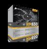 RM650, 650W, Gold certified, modular cabling
